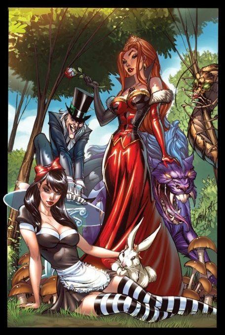 Арты на тему: 'Alice in Wonderland' 004