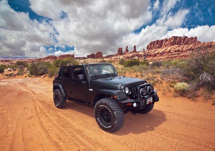 Jeep Wrangler для XPLORE Adventure Series Tn