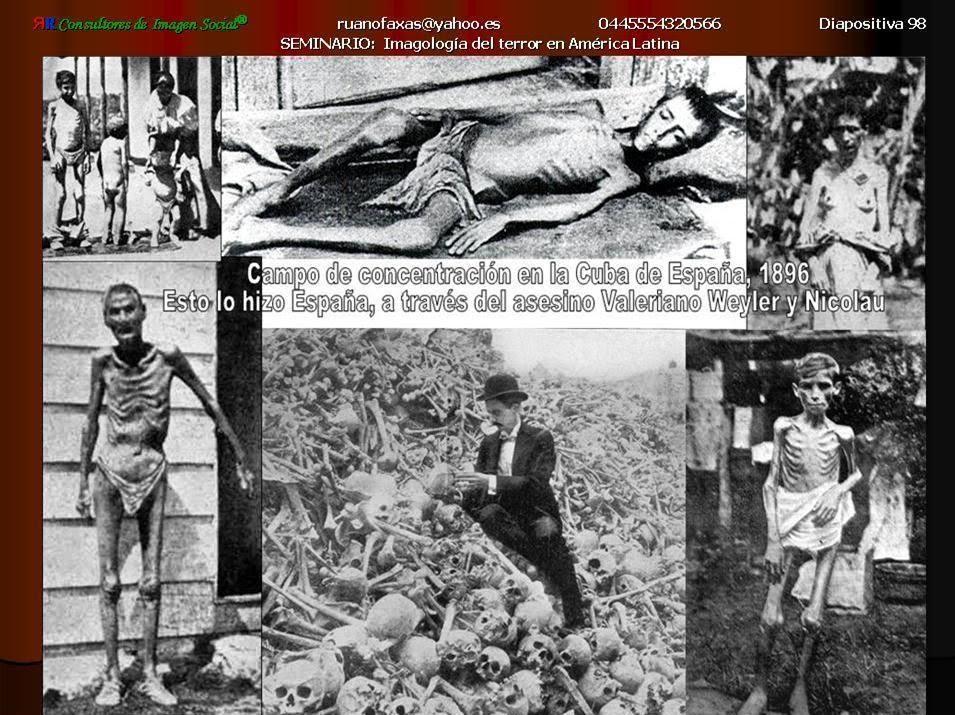 España, el verdadero creador de los campos de concentración. Campo-de-concentracin-en-cuba1