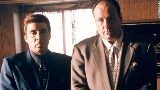 Woke Up This Morning, Got Yourself a Gun: The Music From 'The Sopranos' 08tony-e-silvio
