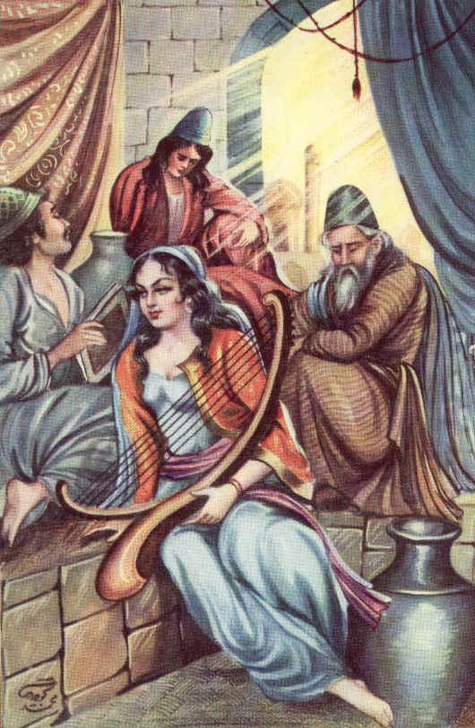 Персиjско сликарство Music