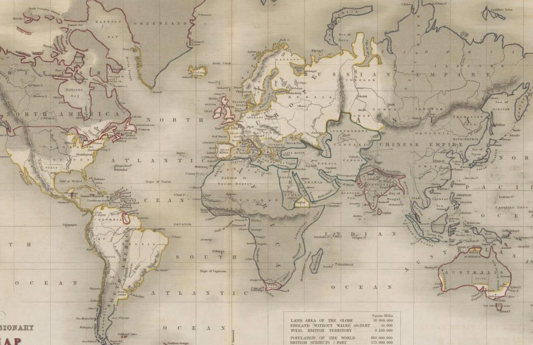 Возрождение - Информация к Размышлению Church-map