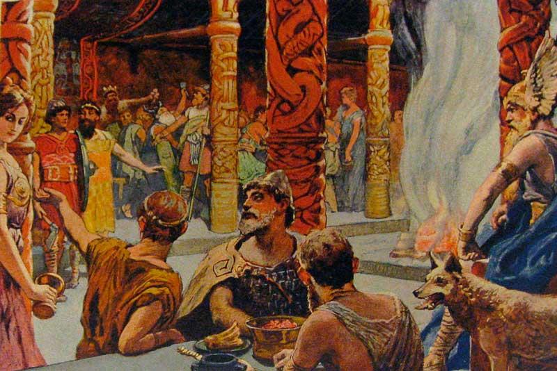 Скандинавские боги Walhalla