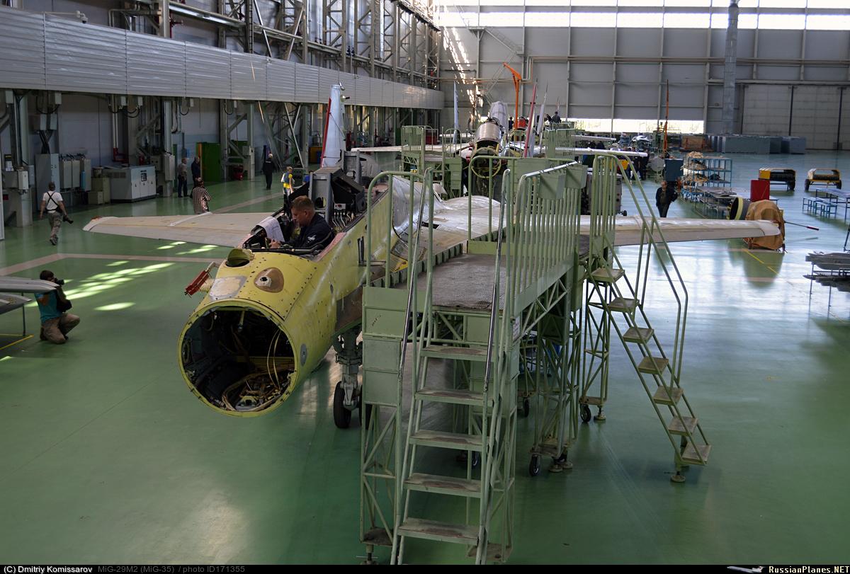 روسيا ليس لديها خطط لتوريد مقاتلات MIG-29 لمصر  171355