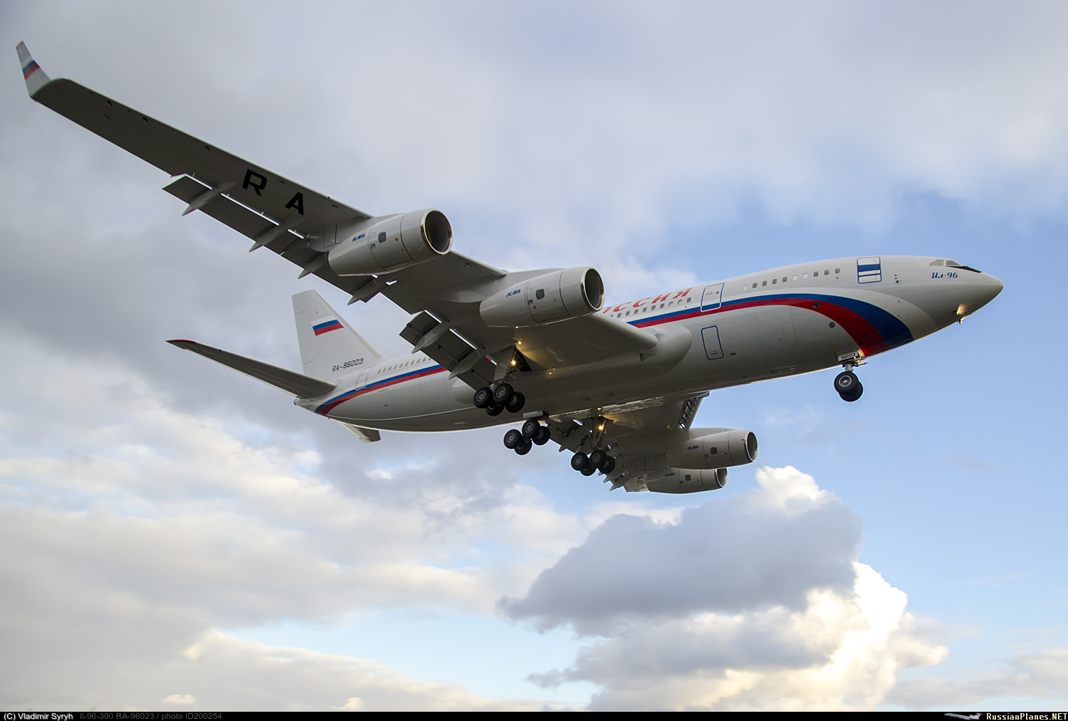 Russian presidential/government aircraft - Page 2 200254