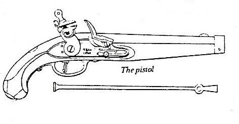 pistolet d'arçon fabrication première moitié XVIII... peut-être germanique... ou pas! 1809drawing