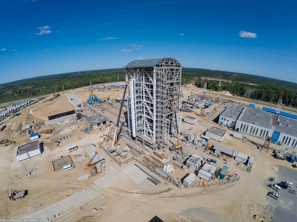 New Russian Cosmodrome - Vostochniy - Page 2 Cosmodrome-vost-19