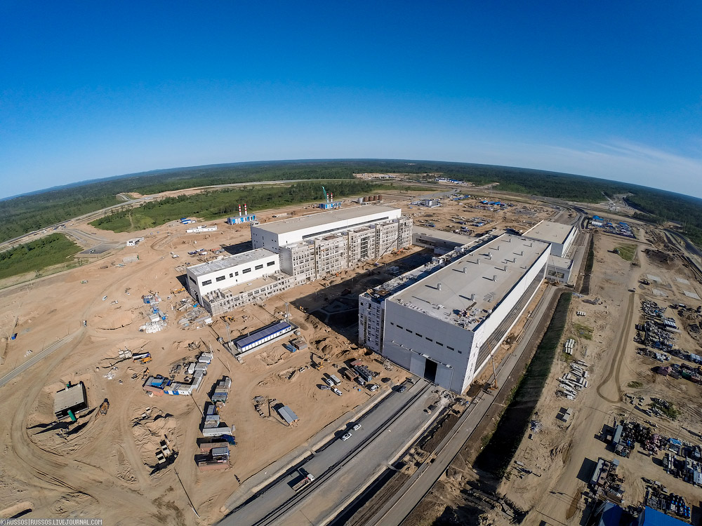 New Russian Cosmodrome - Vostochniy - Page 2 Cosmodrome-vost-32