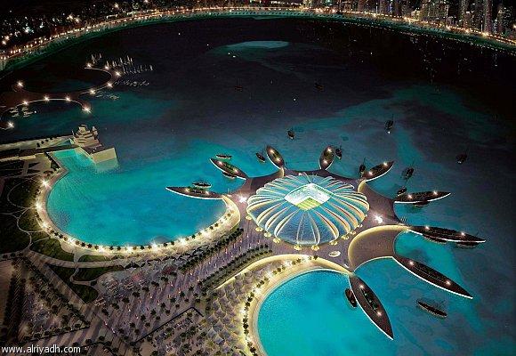 قطر تنفق 100 مليار دولار لاستضافة مونديال 2022 210768585097