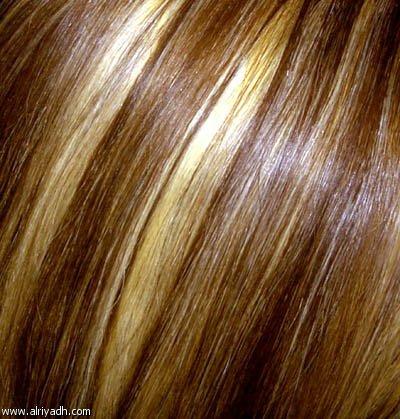 طريقة تشقير الشعر طبيعيا عشبة البابونج
