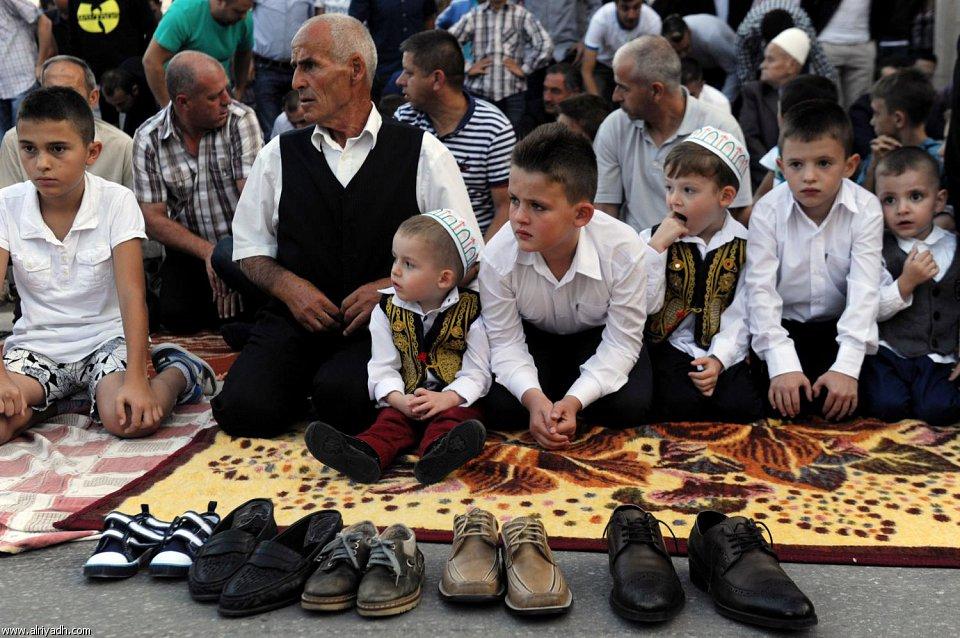 [صور]العيد فرحة لا حدود لها للأطفال المسلمين  1434 446603273041