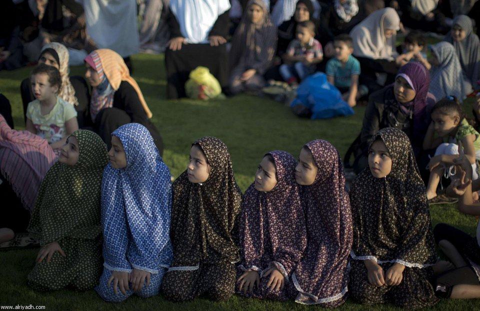 [صور]العيد فرحة لا حدود لها للأطفال المسلمين  1434 524794604163