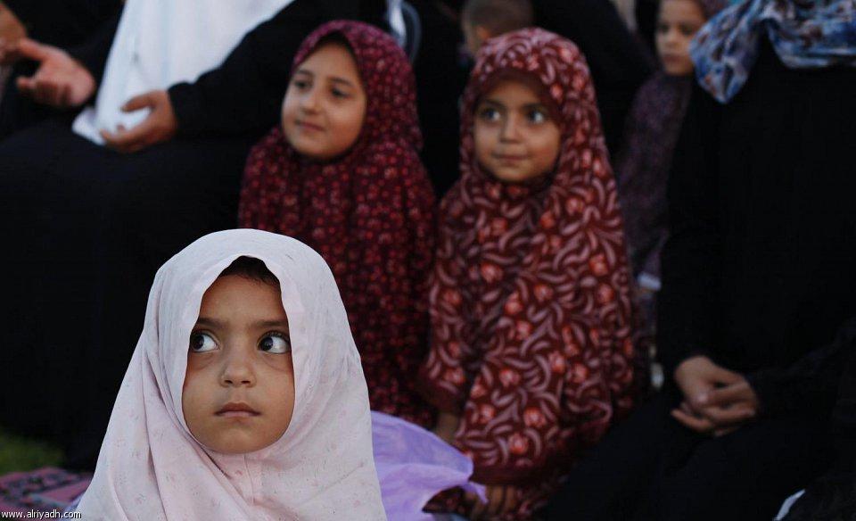 [صور]العيد فرحة لا حدود لها للأطفال المسلمين  1434 800450952722