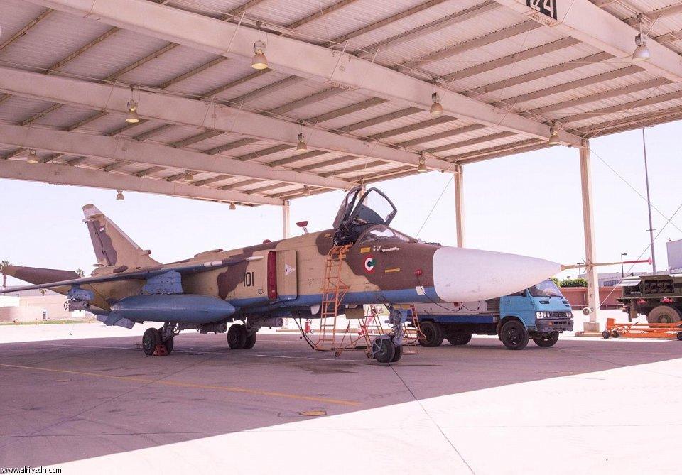 السودان ربما استلم اعداد اضافيه من مقاتلات Su-24 Fencer 738400826695