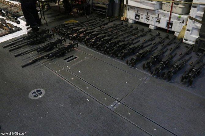 البحرية الأمريكية تعترض شحنة أسلحة من إيران في بحر العرب  549697719287