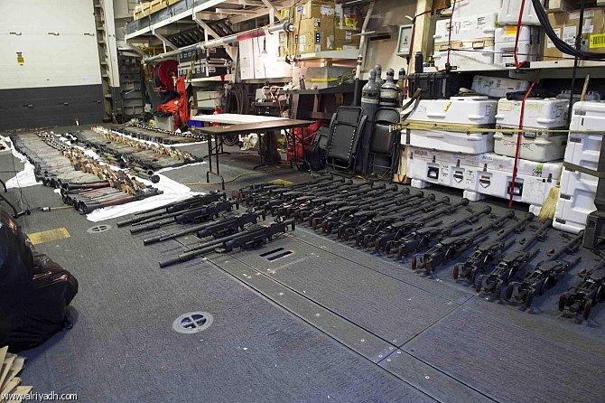 البحرية الأمريكية تعترض شحنة أسلحة من إيران في بحر العرب  733481831173