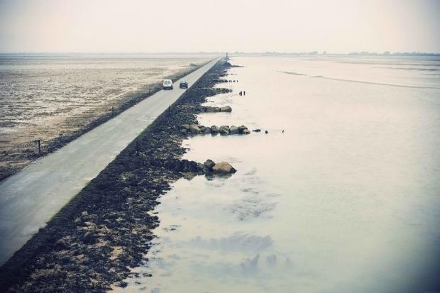 Дорога, дважды в сутки уходящая под воду  A4