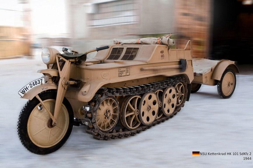 ТЕХНИКА ПРОШЛОГО. Немецкий гусеничный мототягач  1_004