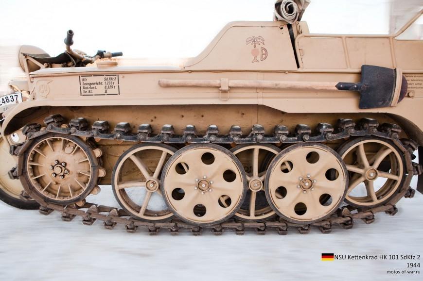 ТЕХНИКА ПРОШЛОГО. Немецкий гусеничный мототягач  1_005