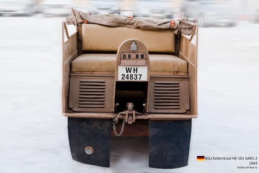 ТЕХНИКА ПРОШЛОГО. Немецкий гусеничный мототягач  1_012