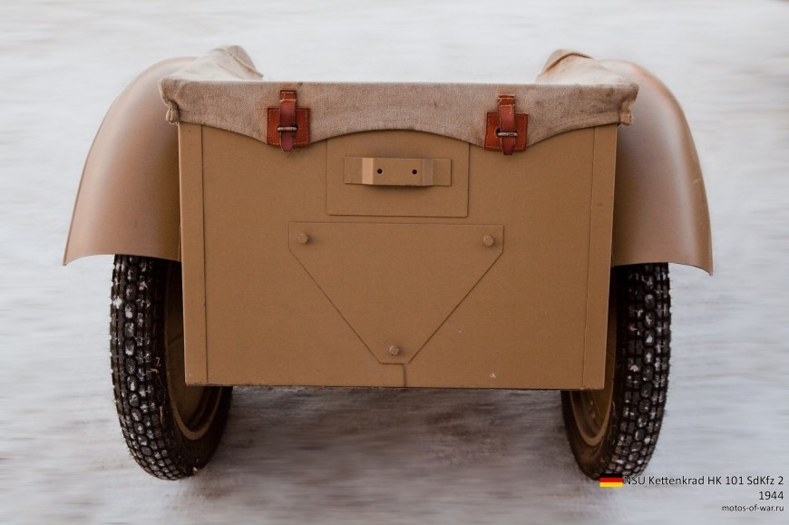 ТЕХНИКА ПРОШЛОГО. Немецкий гусеничный мототягач  1_016