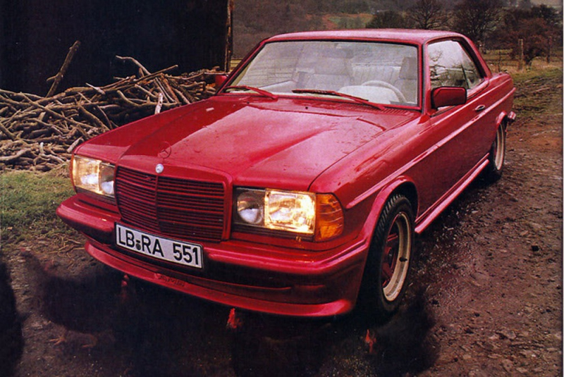 Самый народный Mercedes  009