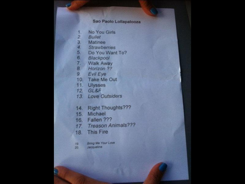 Lollapalooza Brasil 2013 streaming [PEARL JAM, THE BLACK KEYS, QOTSA, A PERFECT CIRCLE, ...] Setlist-franz