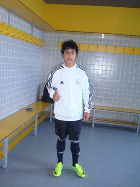 Real Madrid signs 13 years old Super Talent, Luis Henrique dos Santos 'Pety' 03