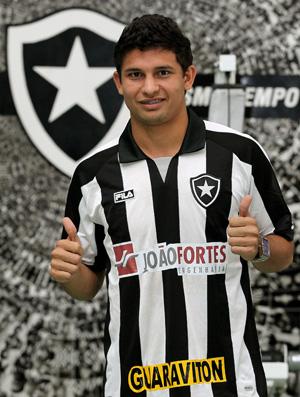 Botafogo anuncia acerto com Elkeson Elkeson-agif-2397