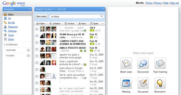 Google anuncia fim do Wave, serviço que prometia 'matar' o e-mail Googlewave