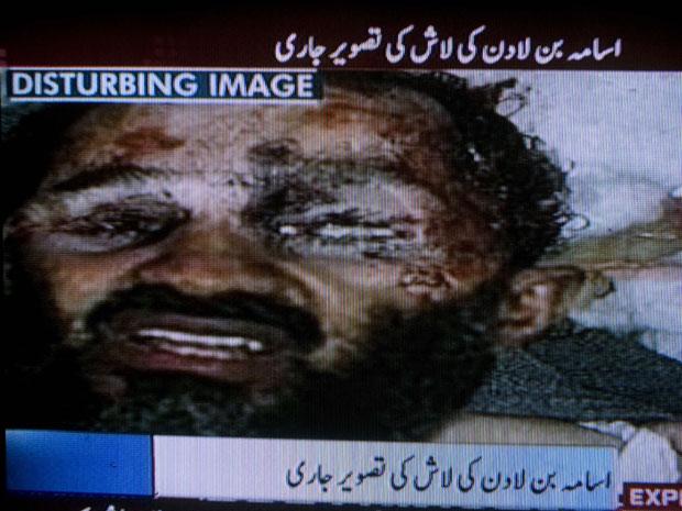 TV paquistanesa diz que imagem do corpo de Bin Laden é falsa Morto620