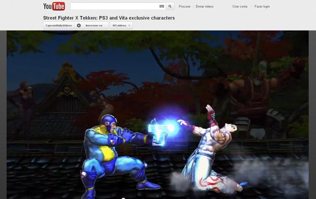 SF x Tekken - Vazou lista de personagens Mega2