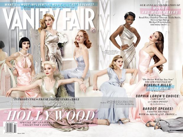Revista Vanity Fair elege as 'novas estrelas' de Hollywood. Vanity-fair