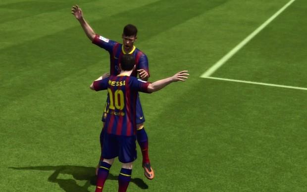 Fifa 14: aprenda a fazer as novas comemorações do jogo Neymar_e_messi2