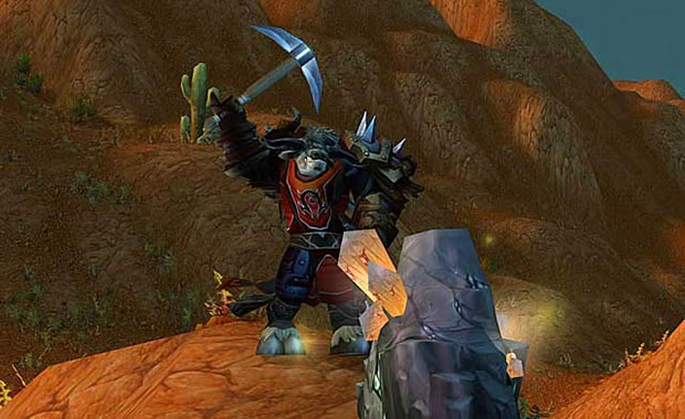 Primeiros Passos em World OF Warcraft Coletando_minerios
