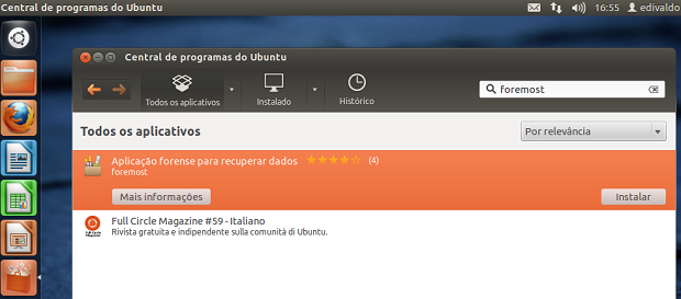Como recuperar arquivos deletados no Linux Linux1
