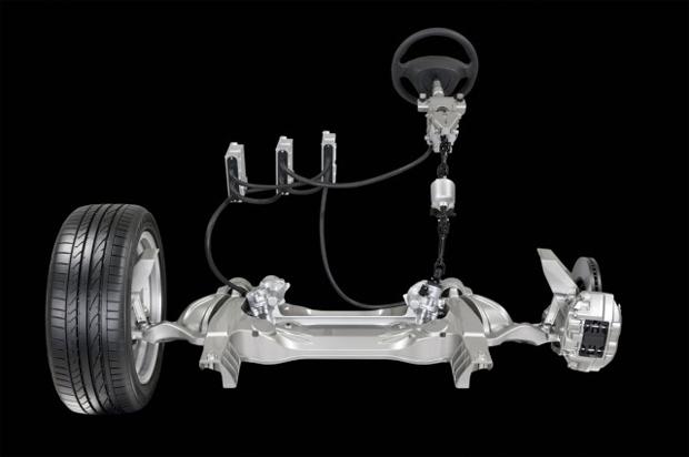 Direção hidraulica Nissan-introduz-tecnologia-eletronica-de-direcao