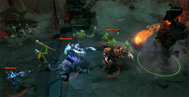 League of Legends x Dota 2: qual jogo é o melhor? Dota2-jogabilidade