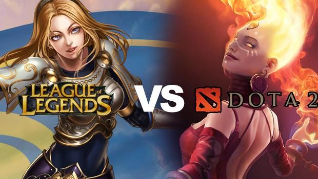 League of Legends x Dota 2: qual jogo é o melhor? Lol-dota2