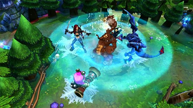 League of Legends x Dota 2: qual jogo é o melhor? Lol-gameplay