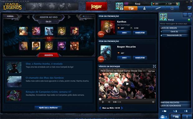 League of Legends x Dota 2: qual jogo é o melhor? Lol-menu