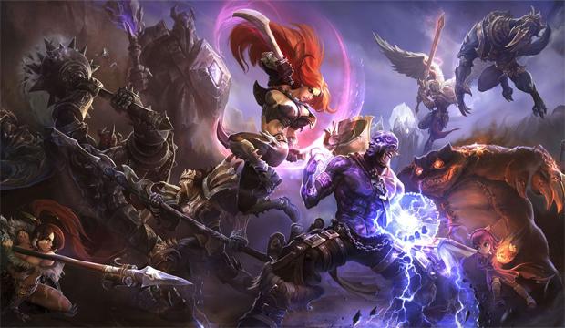 League of Legends x Dota 2: qual jogo é o melhor? Lol-personagens