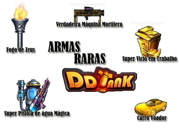 DDTank: como upar armas e conseguir itens raros no game Armasrarasddtank