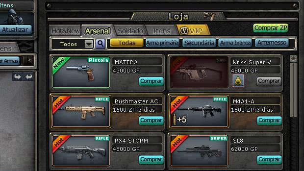 Como jogar CrossFire online, o popular FPS Crossfire_loja