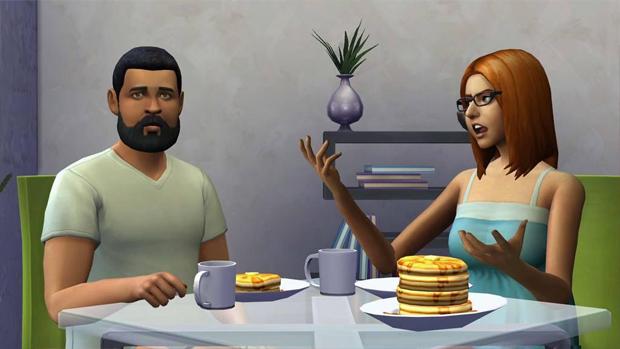 The Sims 4 : primeiras imagens e detalhes vazam na internet The-sims-4-cafe-da-manha
