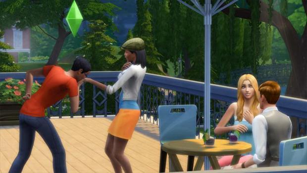 The Sims 4 : primeiras imagens e detalhes vazam na internet The-sims-4-rindo