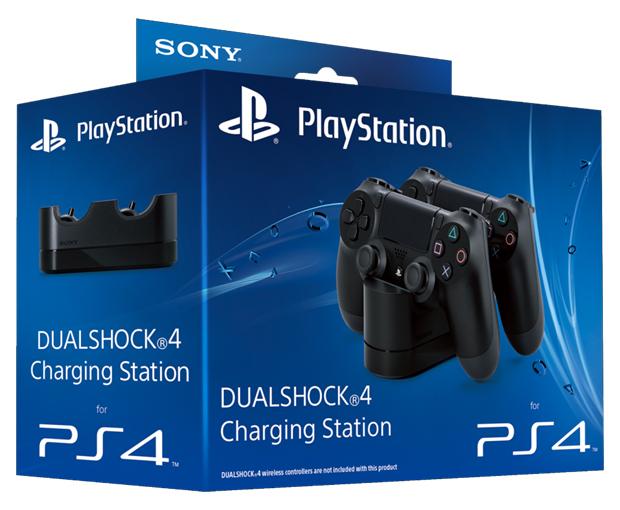 PlayStation 4 terá joysticks coloridos, estação de recarga e outros periféricos Playstation-4-dualshock-dual-shock-charging-station