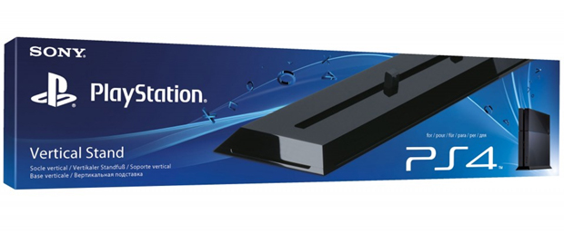 PlayStation 4 terá joysticks coloridos, estação de recarga e outros periféricos Playstation-4-ps4-vertical-stand-suporte