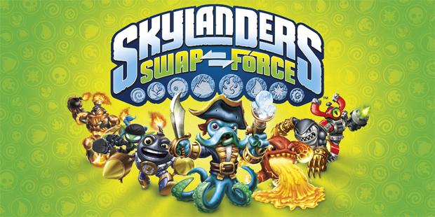 Skylanders: Swap Force - lançamento 18/10/2013 Skylanders-swapforce-title
