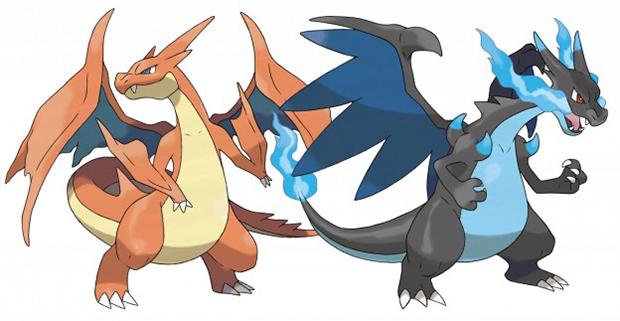 Pokémon X e Y: veja as principais diferenças entre as versões Charizard1